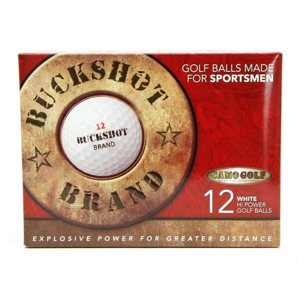 CamoGolf Buckshot Golf Balls (Pack of 12)