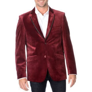 Blu Martini Men's Velvet Sport Coat