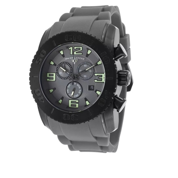 Swiss Legend Men's SL-10067-BB-014 Commander Grey Watch