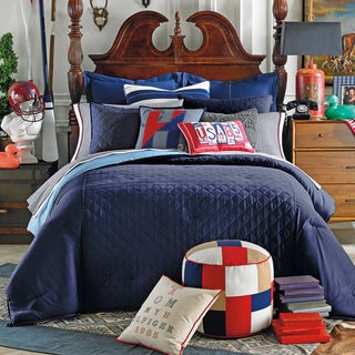 Tommy Hilfiger Prep Solid Midnight Comforter
