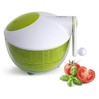 Plastic Green/ White 5-quart Salad Spinner