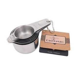 Stainless Steel 6-piece Stackable Measuring Cup Set 14490314