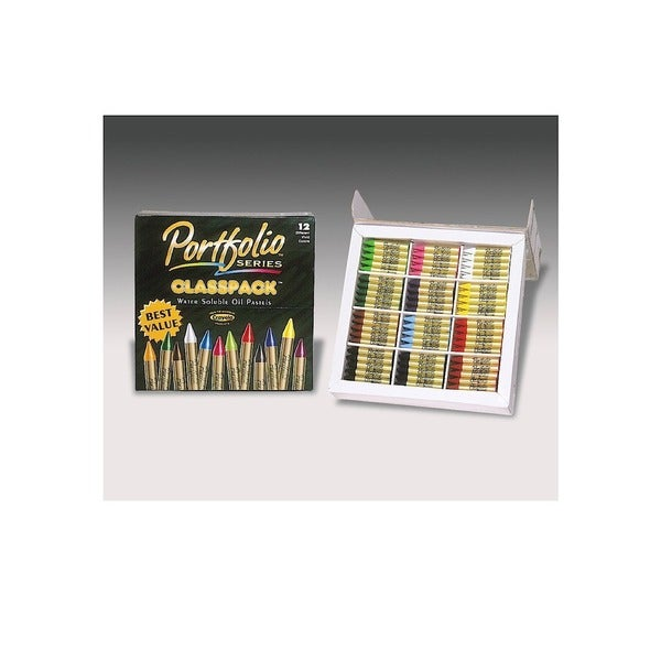 Crayola Portfolio Series Water Soluble Oil Pastels Classpack (Pack of 300)