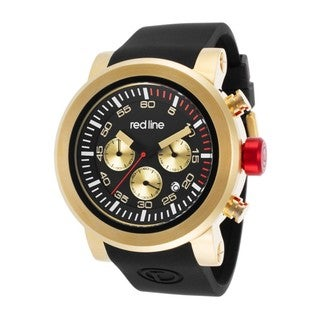Red Line Men's RL-50050-YG-01 Torque Black Watch
