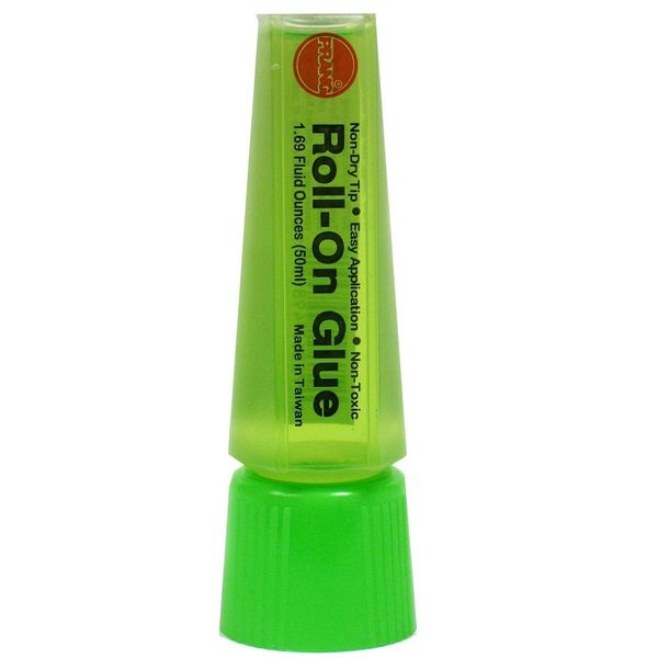 Prang Roll-On Green Liquid Glue (Pack of 10)
