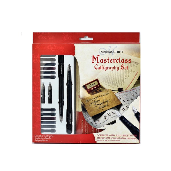 Manuscript Calligraphy Masterclass Set (Pack of 2)