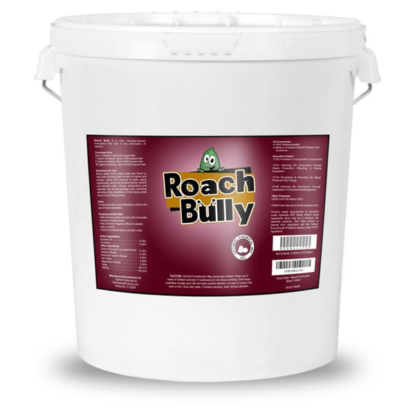 Roach Bully 5 gallon Natural Roach Treatment