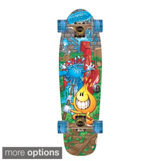 World Industries Flameboy/ Wetwilly Cruiser Skateboard