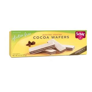 Schar Gluten-free Cocoa Wafers (Case of 6)