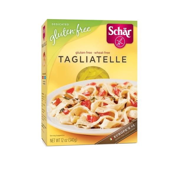 Schar Gluten-free Tagliatelle Pasta (Case of 6)