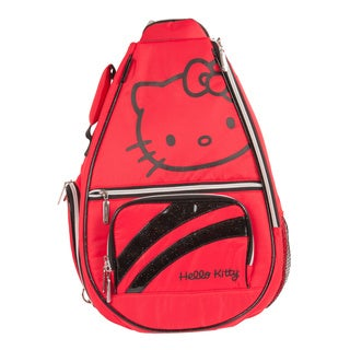 Hello Kitty Premier Collection Red Tennis Backpack