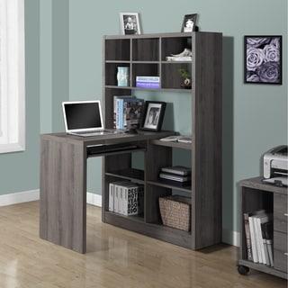 Dark Taupe Reclaimed Look Left/ Right Facing Corner Desk