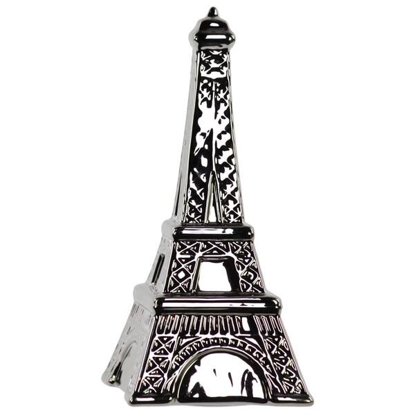 Chrome Ceramic Eiffel Tower