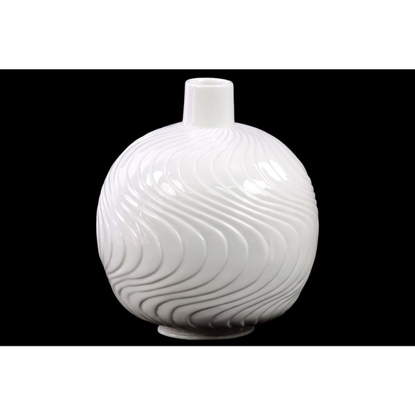 Gloss White Porcelain Vase