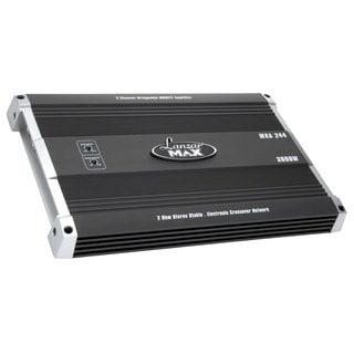 Lanzar MXA244 3000-watt 2 Channel Bridgeable MOSFET Amplifier (Refurbished)