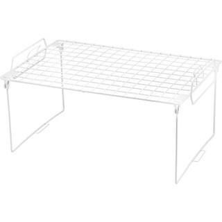 White Metal Stacking Shelf