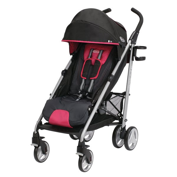 Graco Breaze Click Connect Stroller in Azalea
