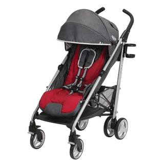 Graco Breaze Click Connect Stroller in Chile Red