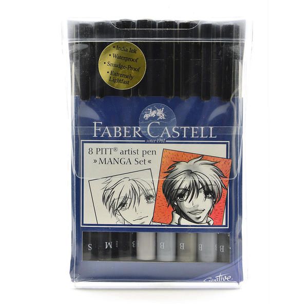 Faber-Castell Manga Pen Sets