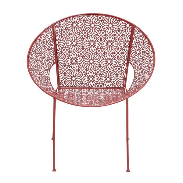 red metal patio chair 16863304 shopping big