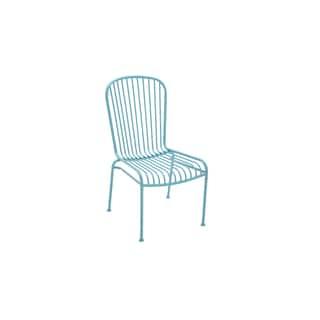 Metal Blue Patio Chair