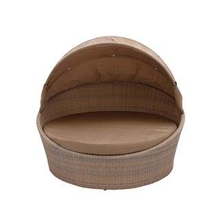 Metal PE Rattan Cabana Patio Chair