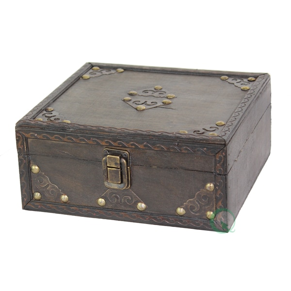 Small Pirate Style Treasure Chest