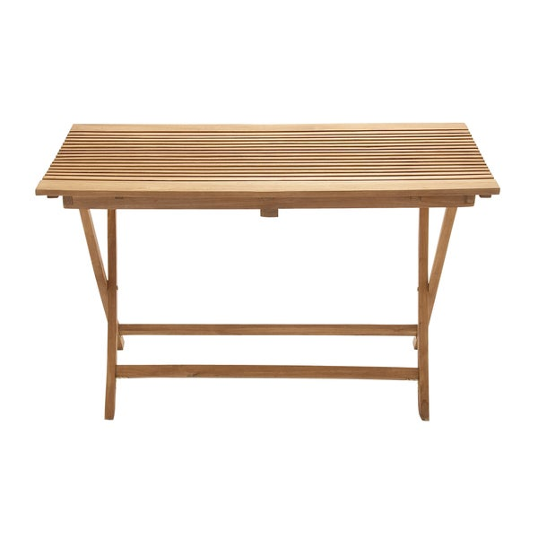 Large Teak Wood Folding Table 16863400 Shopping