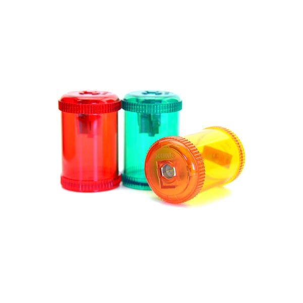 Kum Barrel pencil sharpeners (Pack of 12)