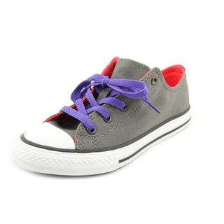 Converse Girl (Youth) 'CT Double Tongue' Basic Textile Athletic Shoe