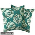 Lush Decor Sophie Zipper Throw Pillow Shell (Set of 2)