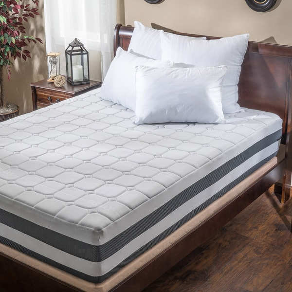 Christopher Knight Home Flow 13-inch Queen-size Gel Memory Foam Mattress