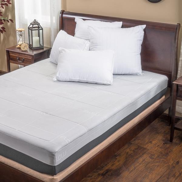 Christopher Knight Home Flow 9-inch Queen-size Gel Memory Foam Mattress