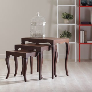 Victor Wooden Nesting Tables (Set of 3)