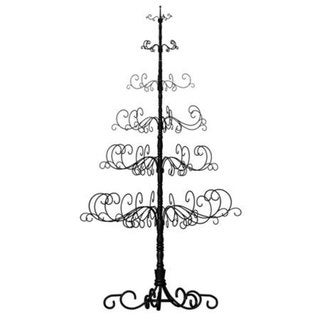 Patch Magic Wrought Iron 10-foot Black Christmas Tree