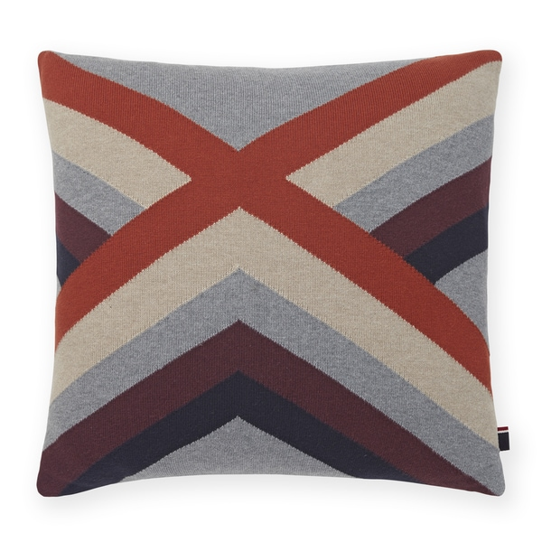 Tommy Hilfiger Geo Knit 18-inch Decorative Throw Pillow