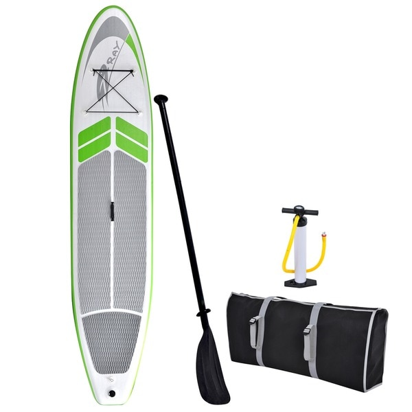Blue Wave Sports Manta Ray 12-foot Inflatable Stand Up Paddleboard with Hand Pump