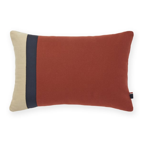 Tommy Hilfiger Pieced Canvas Decorative Throw Pillow