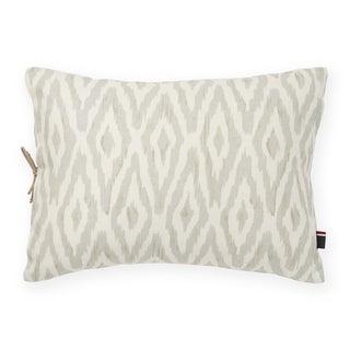 Tommy Hilfiger Cordillera Ikat Gray Decorative Throw Pillow