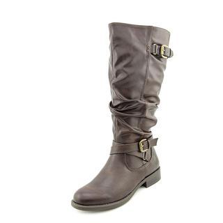 White Mountain Women's 'Latara' Faux Leather Boots (Size 8.5 )