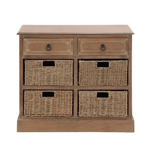 Wood Four-basket Chest