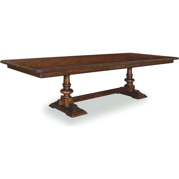 Rectangular Trestle Dining Table