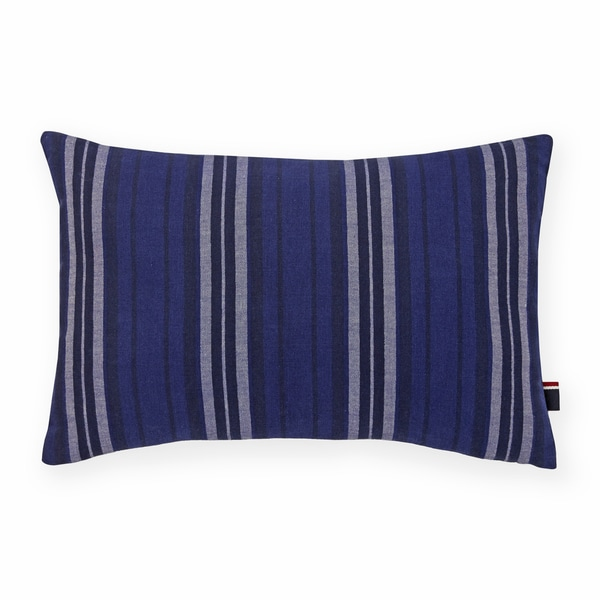 Tommy Hilfiger Denim Stripe Decorative Throw Pillow