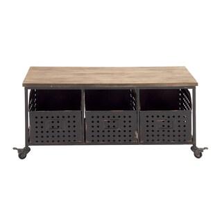 Metal Wheeled Storage Cart