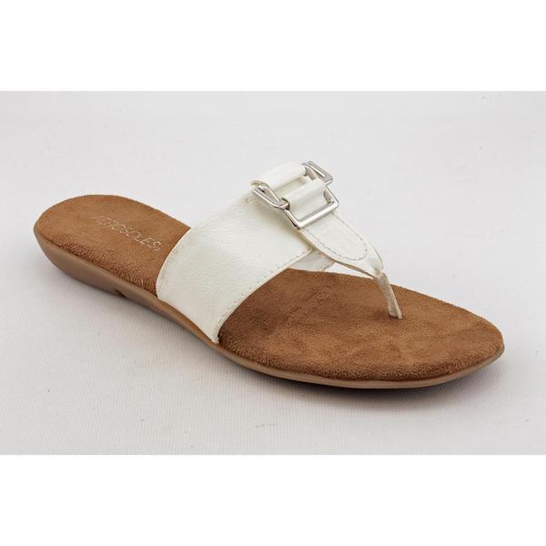 Aerosoles Women's 'Savvy' Patent Sandals - Wide