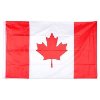 INSTEN Canada Polyester National Flag Banner Decoration 3x5-Feet