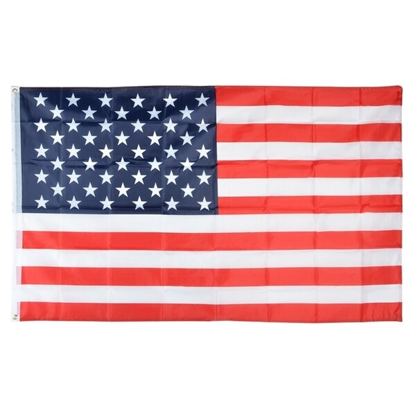 INSTEN United States of America Polyester National Flag Banner Decoration 3x5-Feet 14498370