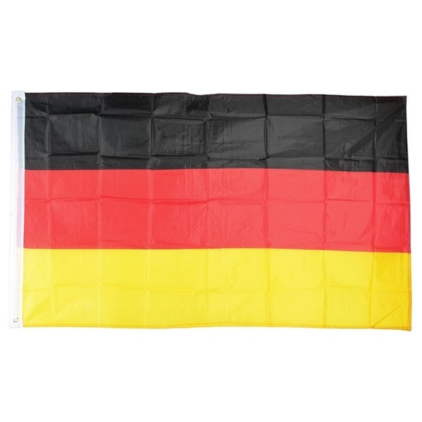 INSTEN Germany Polyester National Flag Banner Decoration 3x5-Feet