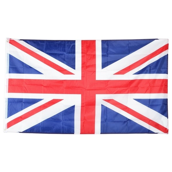 INSTEN United Kingdom Polyester National Flag Banner Decoration 3x5-Feet