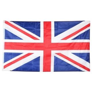 INSTEN United Kingdom Polyester National Flag Banner Decoration 3x5-Feet